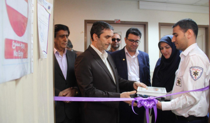 Launch of Asayar operation system in the emergency department of Markazi province